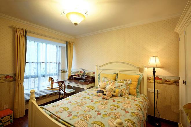 田园 二居 三居 混搭 旧房改造 80后 美式风格 上海装修 卧室图片来自上海实创-装修设计效果图在上海150平米乡村美式风格的分享