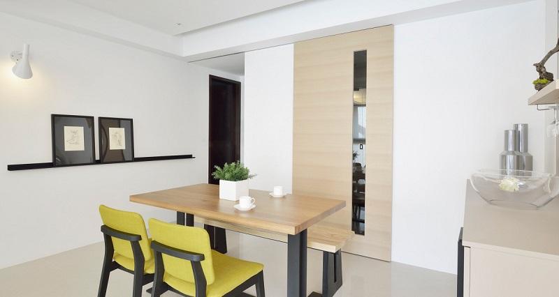 简约 三居 餐厅图片来自四川建拓建筑装饰工程有限公司在现代简约-心语的分享
