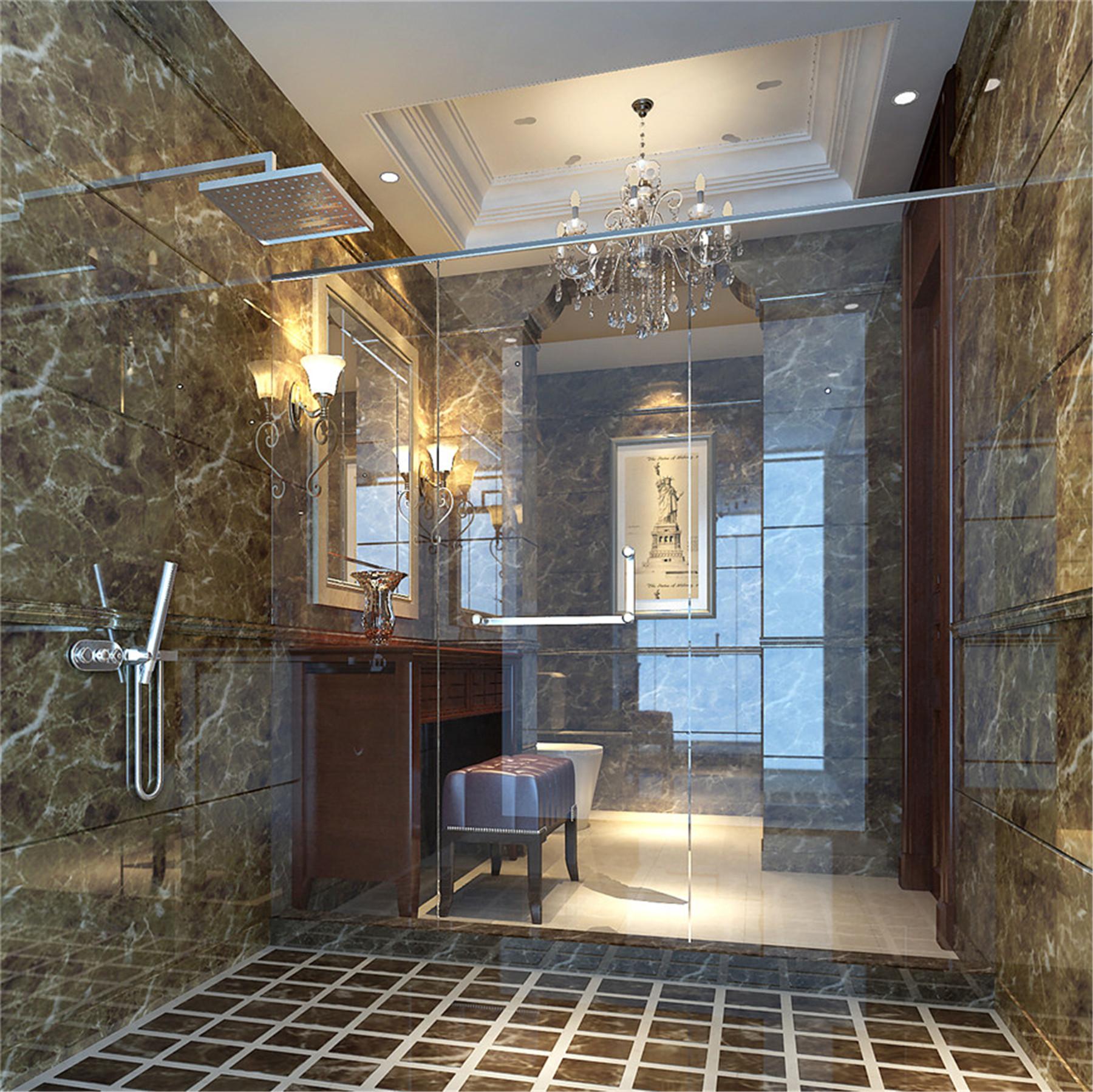 黄兴绿园 装修设计 现代风格 腾龙设计 季蓓菁作品 卫生间图片来自腾龙设计在黄兴绿园别墅装修现代风格设计的分享