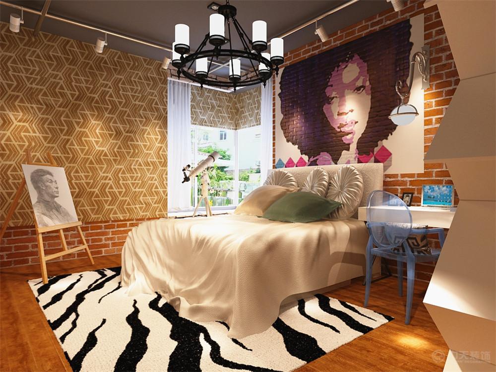 简约 卧室图片来自阳光力天装饰梦想家更爱家在工业风格 府上和平 82的分享