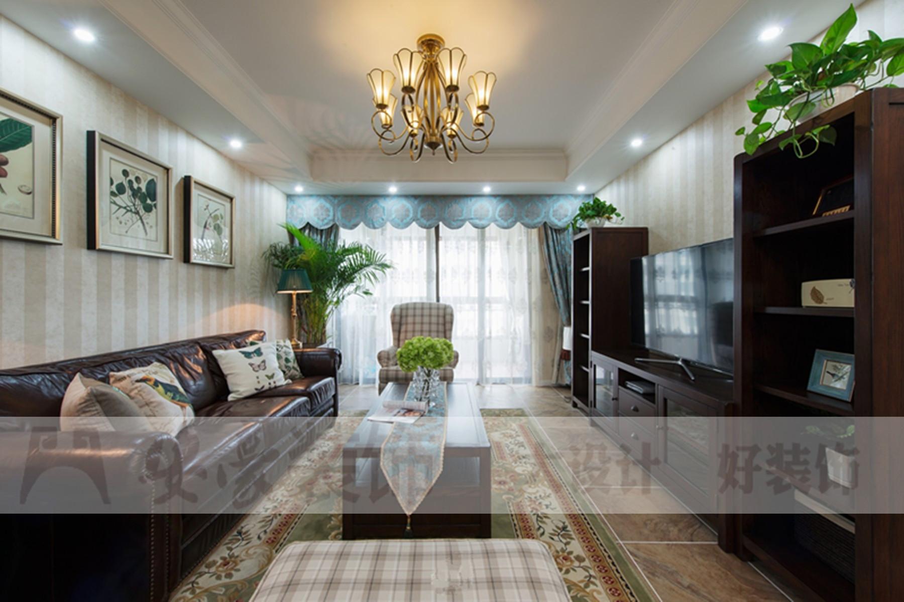 混搭 白领 80后 小资 客厅图片来自安豪装饰在水岸茗都的分享
