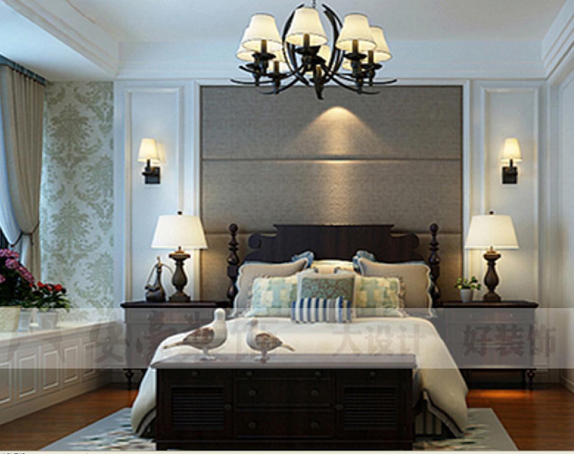 小资 混搭 卧室图片来自安豪装饰在九华山庄的分享