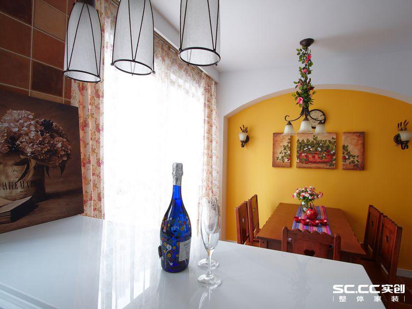 田园 二居 餐厅图片来自实创装饰上海公司在乡村田园风格绿色空间的分享