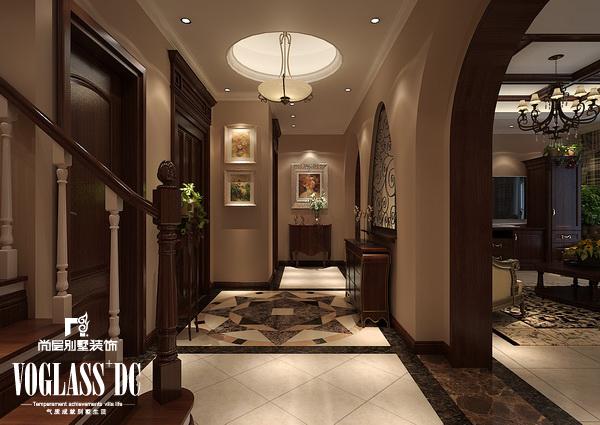 欧式 别墅 天津尚层 楼梯图片来自Spencer丶nuzzi在滨海湖简欧的分享