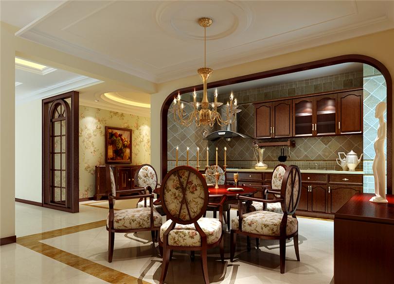 三居 白领 收纳 80后 小资 餐厅图片来自实创装饰完美家装在滨河临镜苑二期150平三居美式风的分享