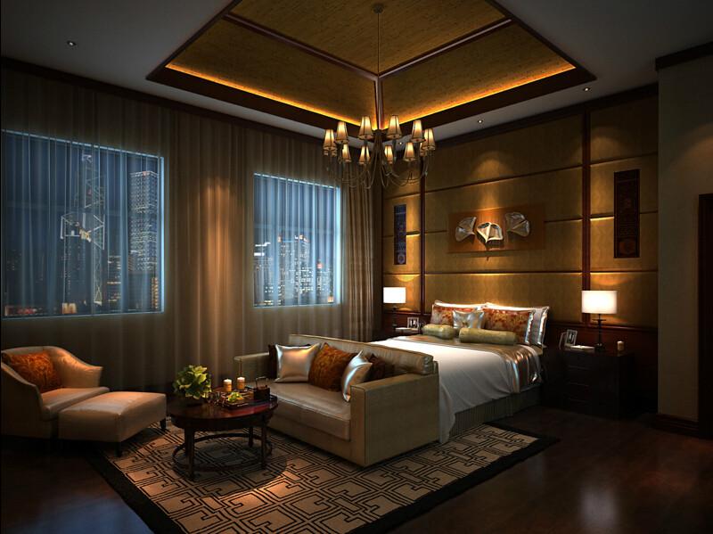 简约 别墅 中式 旧房改造 卧室图片来自成都V2装饰在芙蓉古城绽放的文化的分享