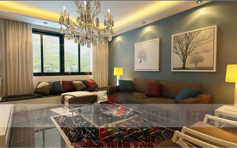 简约 白领 80后 客厅图片来自安豪装饰在安高广场的分享
