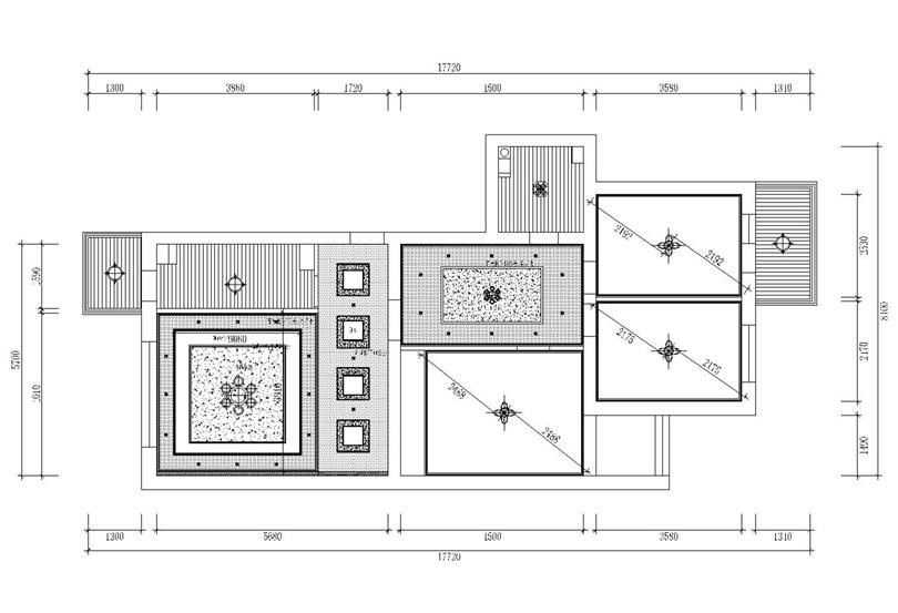 二居 白领 收纳 80后 小资 户型图图片来自实创装饰完美家装在军博水科院101平二居北欧风的分享
