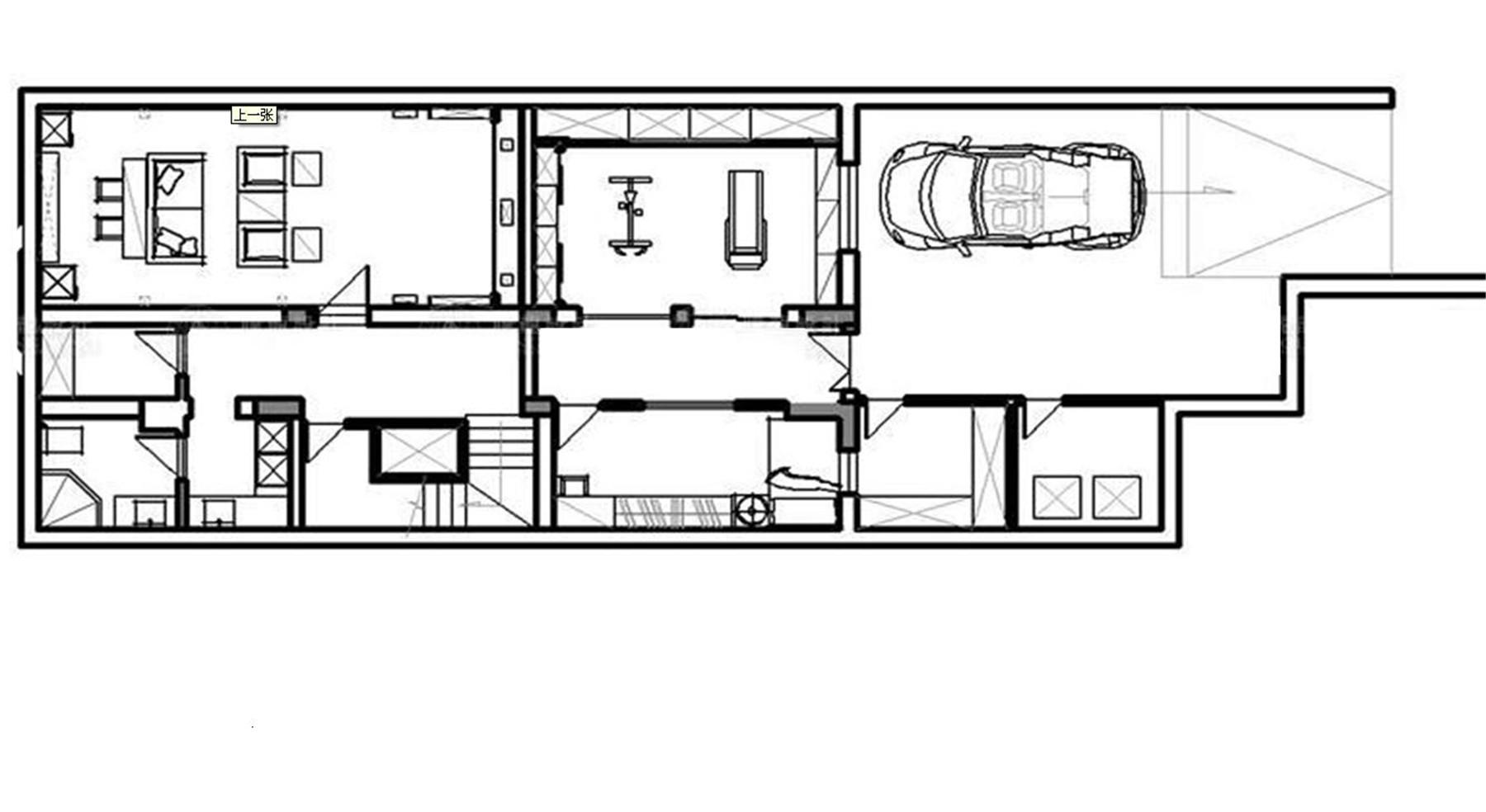 皇都花园 别墅装修 别墅设计 欧式古典 腾龙设计 户型图图片来自腾龙设计在皇都花园别墅装修欧式风格设计的分享