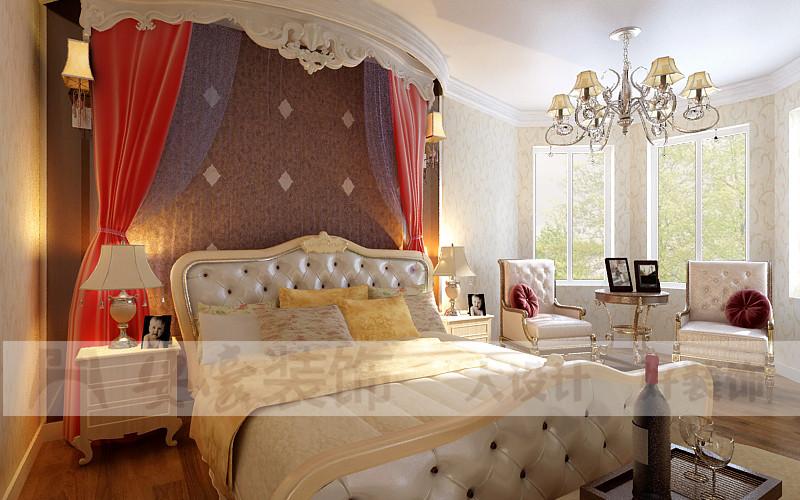 混搭 白领 80后 小资 卧室图片来自安豪装饰在科大花园的分享