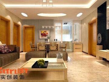 新都汇两居室现代奢华风格