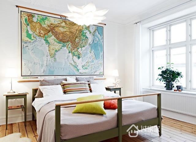 小资 白领 收纳 旧房改造 卧室图片来自过家家装饰在86平米二居室 北欧风的森林系的分享