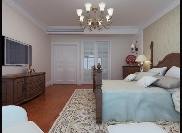 主卧是业主重点打造的私人空间。为满足宽大、休闲的基本要求,先对原结构中阳台划为室内空间,这样衣帽间与卧室同时到得扩大,在衣帽间一侧还获得了十分惬意的室内休闲空间。