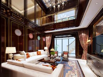 亮丽家园——欧式风格业之峰装饰