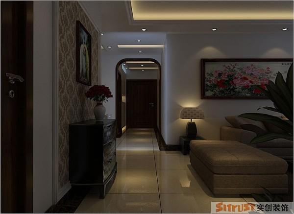天地湾 142平三居室 现代简约风格 装修设计案例-客厅  地面的储物柜,增加了空间的趣味性,更能体现空间的协调统一。