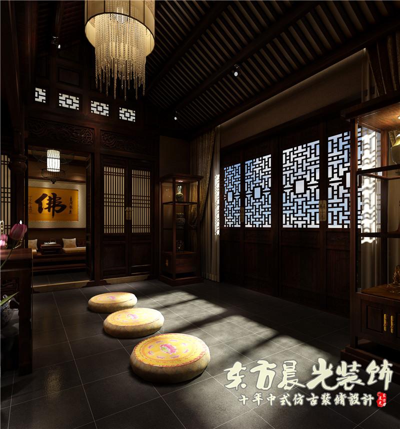 四合院 中式 别墅 农村 小楼房 古典 四合院设计 室内设计 其他图片来自北京东方晨光装饰公司在农村小楼房四合院设计的分享