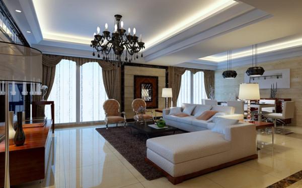 设计理念:温雅稳重的石头,跟活泼的立体镜面,让整个空间稳重大方,配合现代的皮饰沙发,动中有静,静中有雅,儒雅之风弥漫其中。