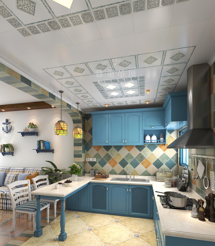 厨房 餐厅 简约 欧式 田园图片来自雅巢集成吊顶公司在雅巢集成吊顶厨卫吊顶美图鉴赏的分享
