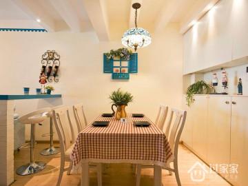 80平两居室纯美地中海