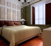 中力七里湾 137平三居室 现代欧式风格 装修设计案例-卧室