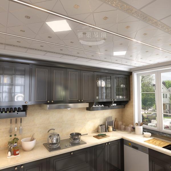 雅巢欧式风格厨房集成吊顶