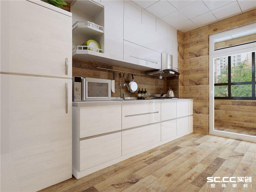 三居 港式 厨房图片来自实创装饰晶晶在95平港式浓情卡布奇诺小三居的分享