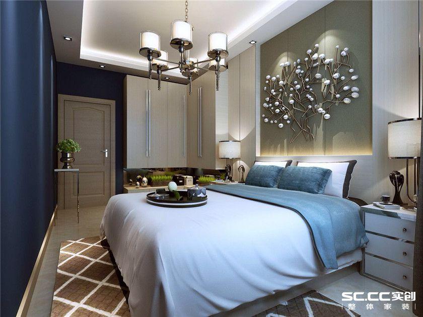 三居 港式 卧室图片来自实创装饰晶晶在95平港式浓情卡布奇诺小三居的分享
