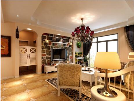 客厅图片来自佳园装饰在世纪城125平米16万打造田园风格的分享