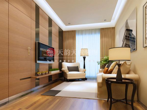 厦门现代风格客厅设计效果图