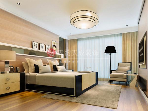 厦门现代风格卧室设计效果图