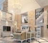 南郊中华园别墅户型装修简约欧式风格设计方案展示,腾龙别墅设计师祝炯作品,欢迎品鉴!