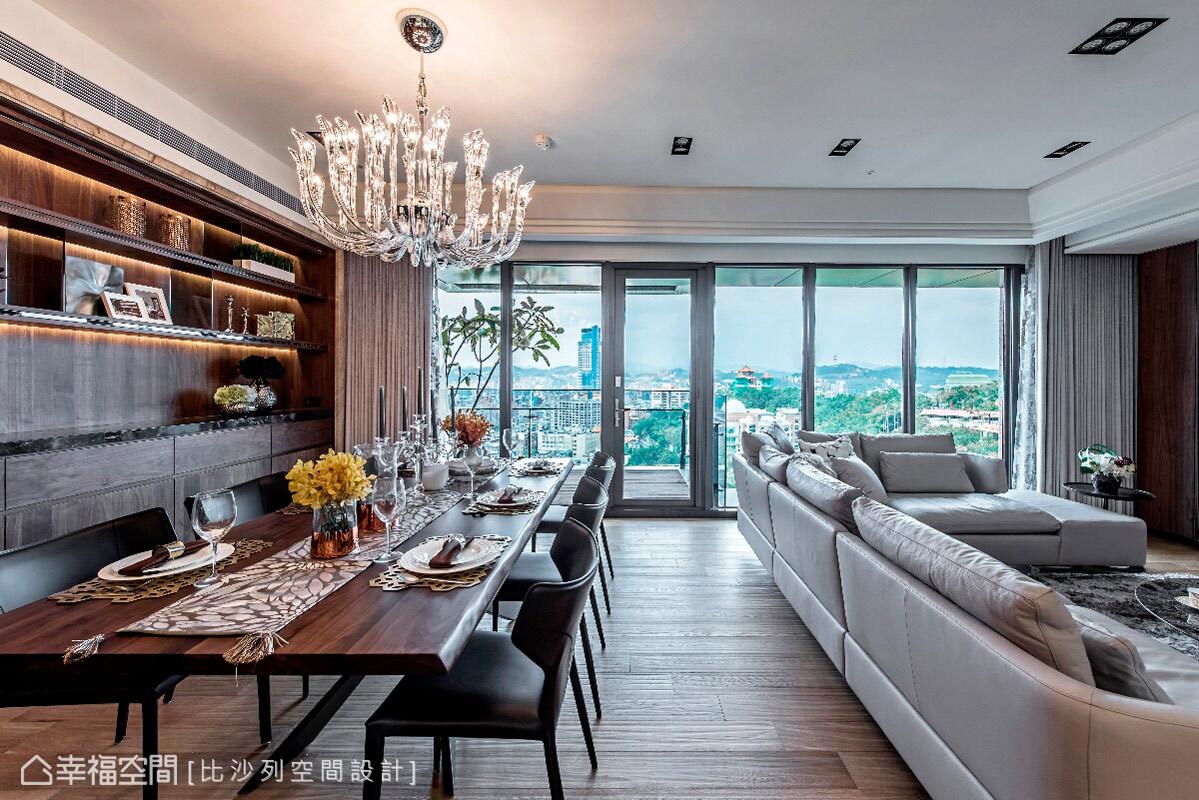 三居 收纳 现代 人文 简约 客厅图片来自幸福空间在303平现代人文视觉乡宴的分享