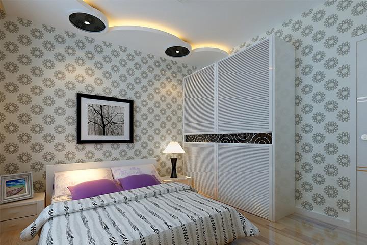 开平小区 四居 现代 装修 卧室图片来自夏曼在开平小区 四居室 简约风格装修的分享