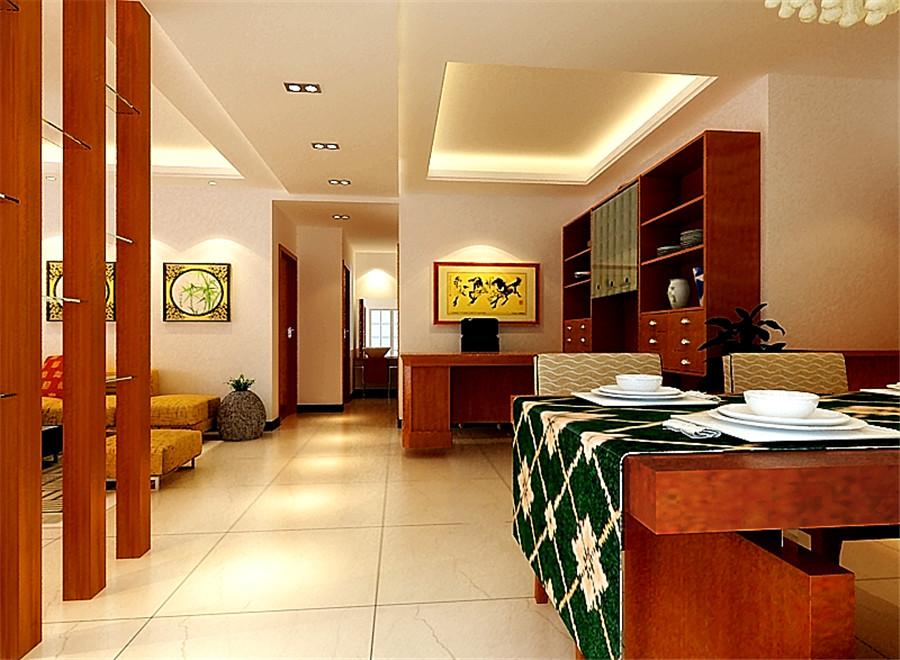 亚星城市 新中式 三居室 中式风格 装修设计 餐厅图片来自郑州实创-整套家装在亚星城市山水中式风格装修案例的分享