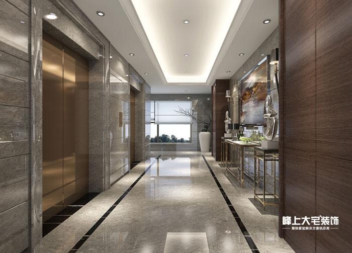 其他图片来自峰上大宅装饰长沙在敔山岭秀平墅-现代风格的分享
