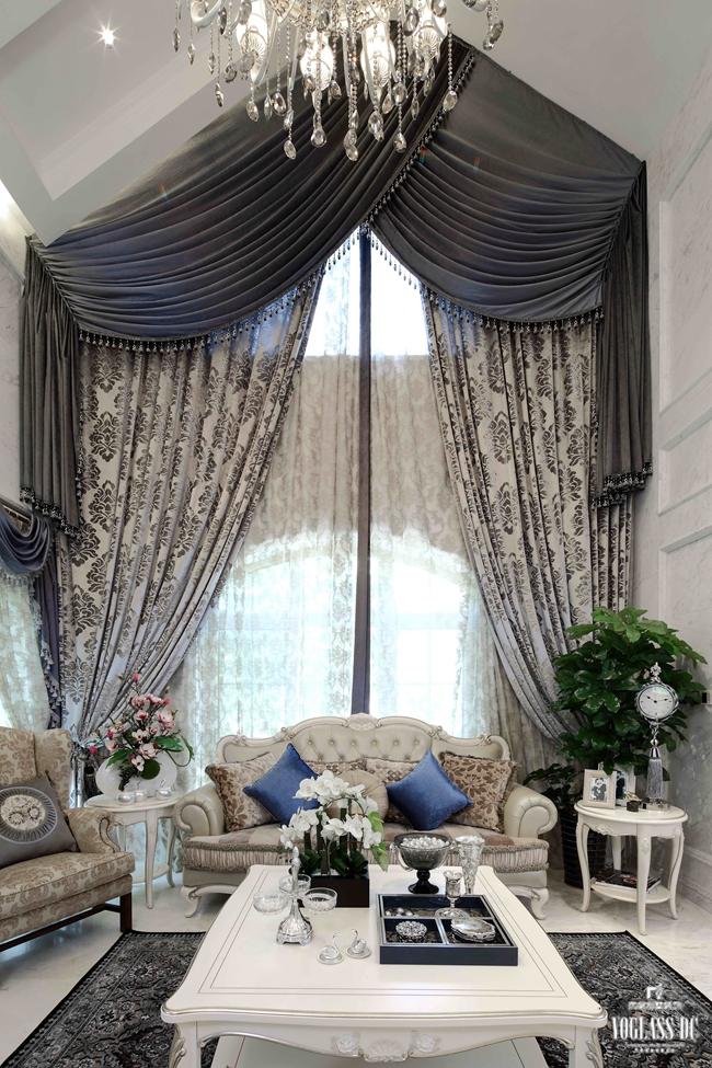 客厅图片来自成都尚层别墅装饰装修公司在田园风格作品的分享