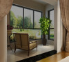 康桥溪月 两居室 现代风格装修