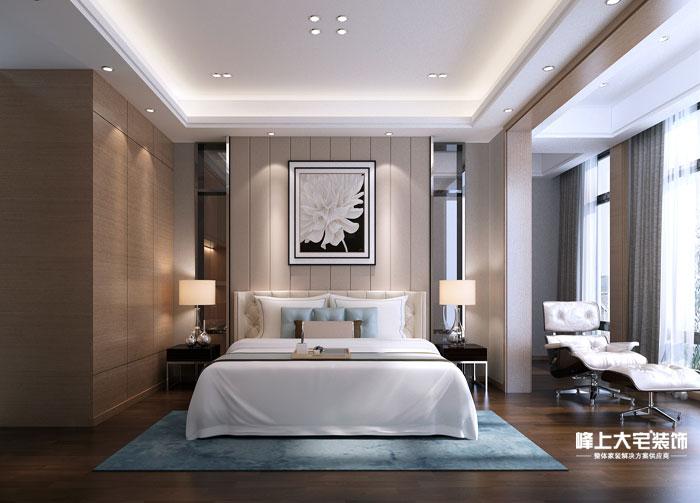 卧室图片来自峰上大宅装饰长沙在水岸新都-简约风格的分享