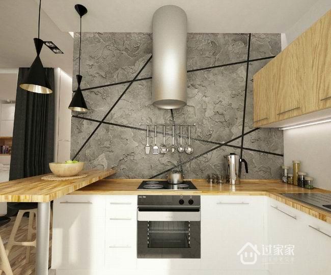 小资 80后 旧房改造 白领 收纳 厨房图片来自过家家装饰在年轻夫妇的小户型潮居的分享