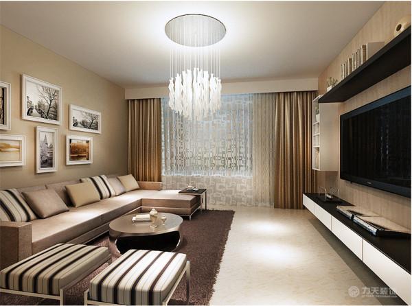 本方案是围绕现代风格为主题,适合于40岁左右的四世同堂口居住,再加上温馨的设计元素在里面。
