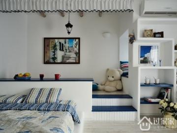 125平地中海风三居室  回归自然