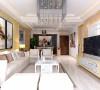 新中式风格装修 九龙城 两居室 家装设计案例 效果图
