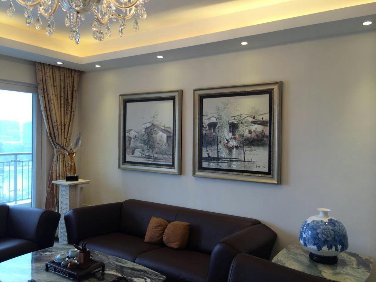欧式 旧房改造 80后 客厅图片来自fy2365951033在欧式住宅空间的分享