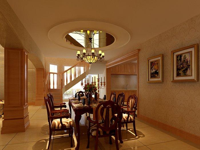 餐厅图片来自宏誉装饰-Paul在170平简欧风格的分享