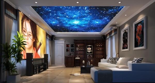 生活家装饰--北京湾370平米欧式风格影音室装修效果图