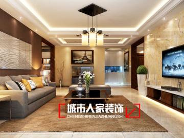 省委劲松新景230平米装修设计
