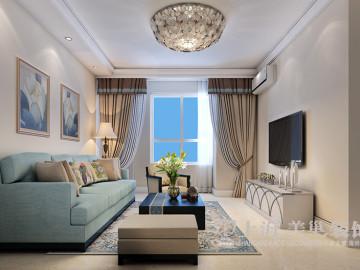 鑫苑世家两室两厅现代装修效果图