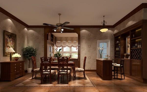 生活家装饰--龙湖·好望山五居300平米新古典风格餐厅装修效果图