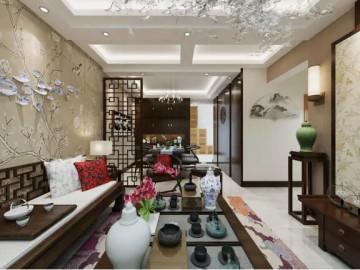 中国铁建国际城新中式风格案列