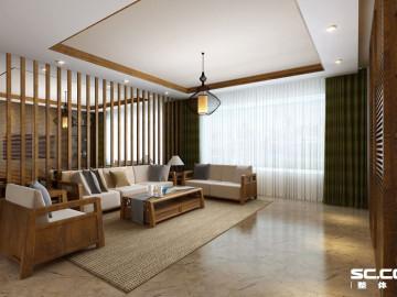 160平老房无印良品装修设计